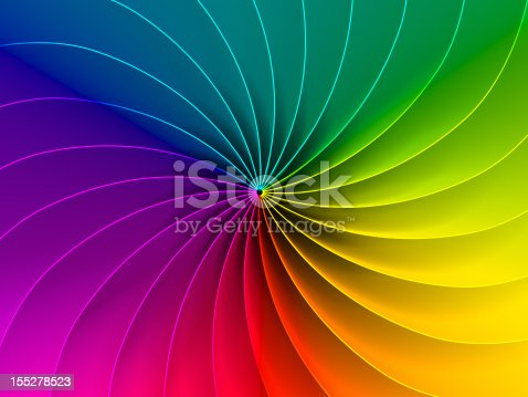 483533237istockphoto Spiral chromatic color wheel of primary colors 155278523