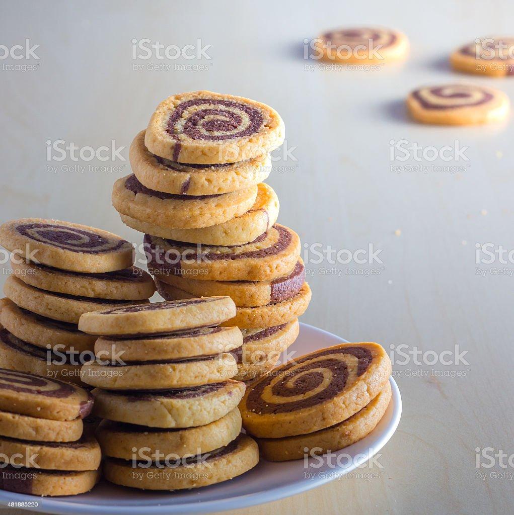 spiral cookies – Foto