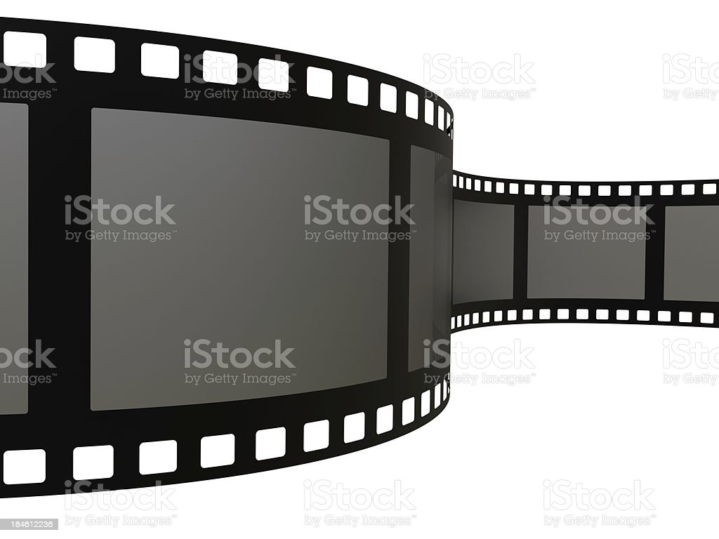 Spiral Film royalty-free stock photo