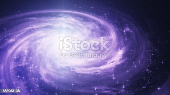 istock Spiral Galaxy - Elements of This Image Furnished by NASA 685063138