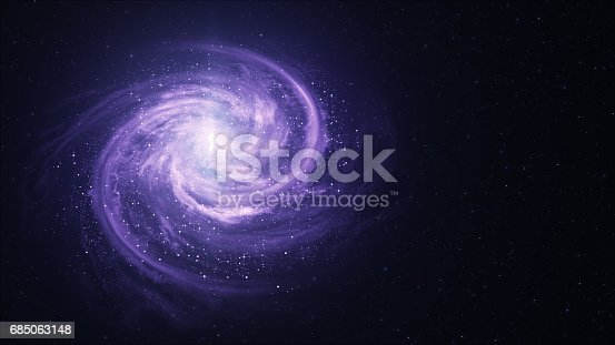 istock Spiral Galaxy - Elements of This Image Furnished by NASA 685063148