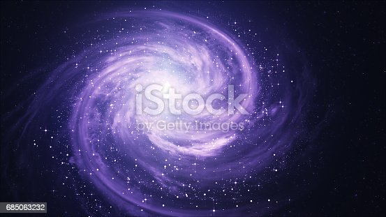 istock Spiral Galaxy - Elements of This Image Furnished by NASA 685063232