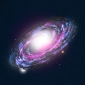 Spiral Galaxy - high detailed illustration