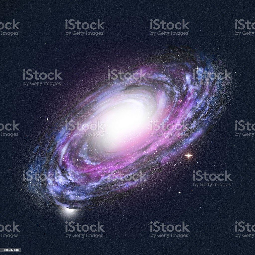 Spiral Galaxy stock photo