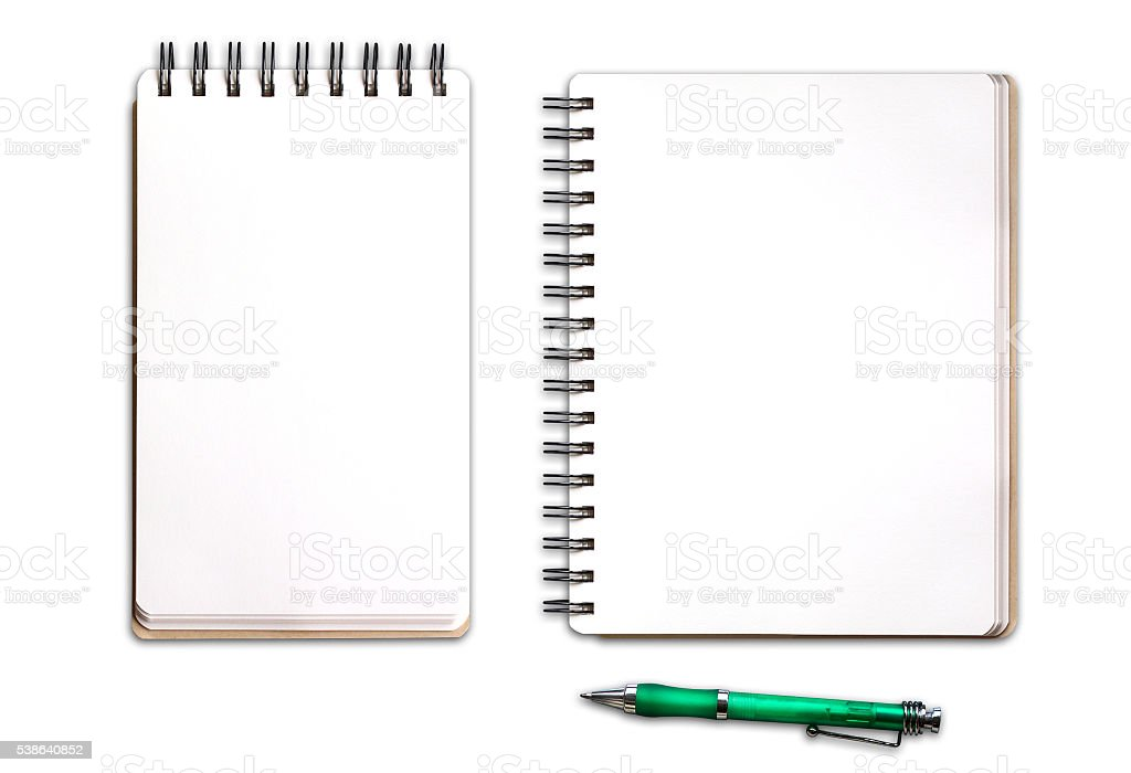 Free spiral notepad Images, Pictures, and Royalty-Free