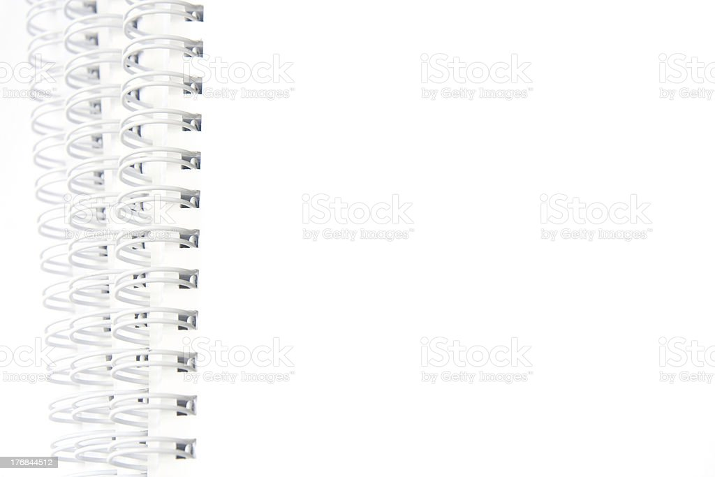 Spiral notebooks stock photo