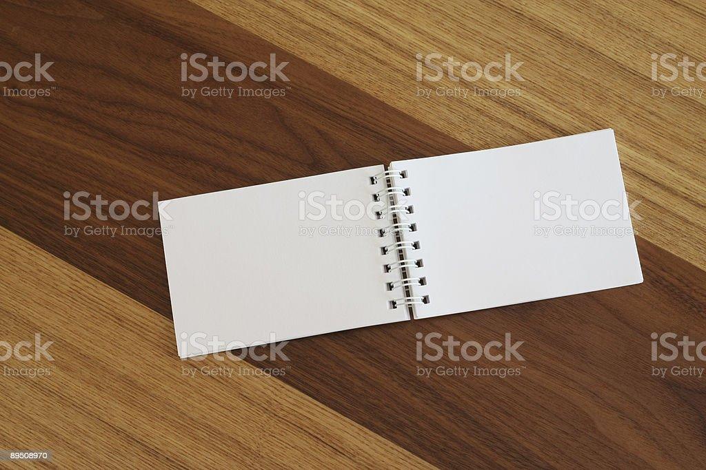 Spiral notepad royalty-free stock photo