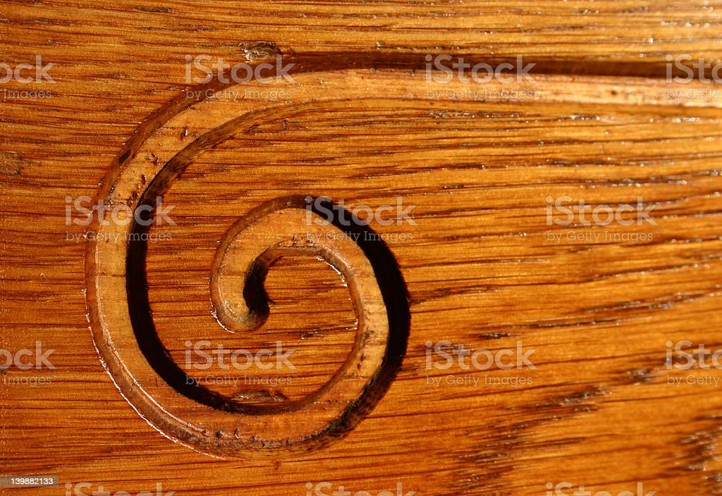 Spiral royalty-free stock photo