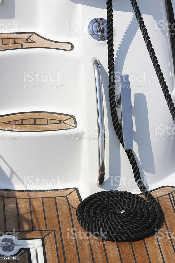 spiral rope royalty-free stock photo