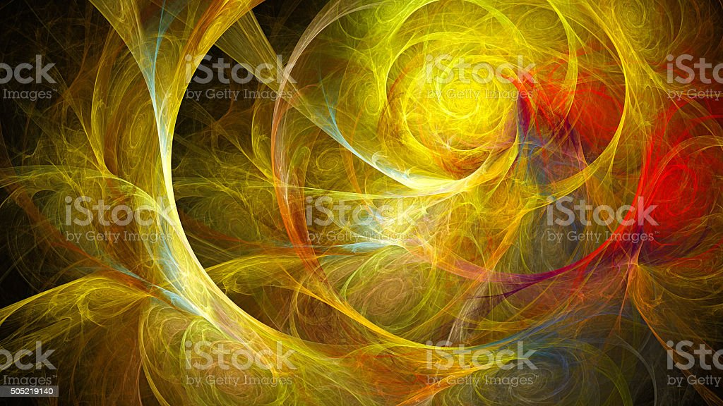 Spiral space. Storm sky. Atmosphere distant planet. stock photo