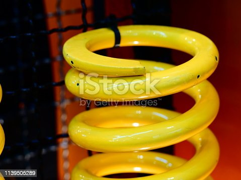 Abstract, Bouncing, Car, Chrome, Coiled Spring