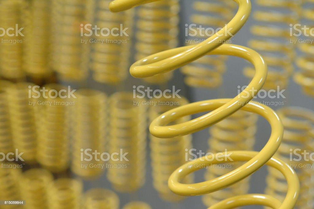 Spiralfedern, pordercoating – Foto