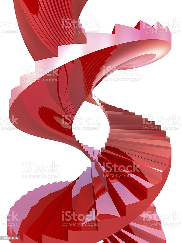 Spiral Staircase background royalty-free stock photo