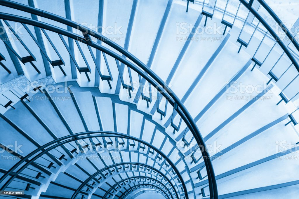 spiral staircase closeup - Royalty-free Architecture Stock Photo