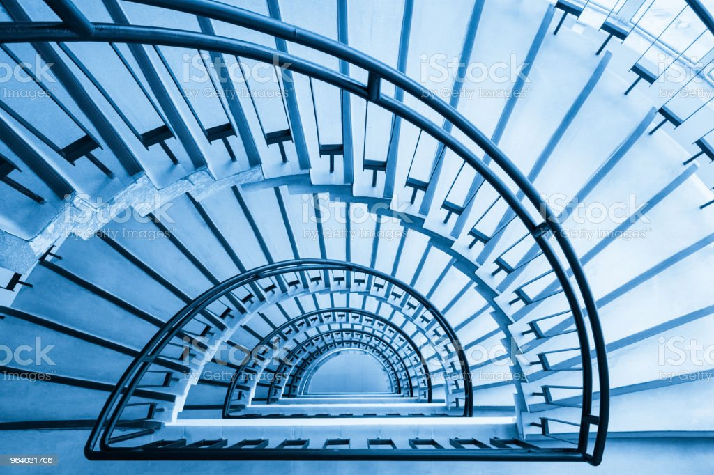 spiral staircase closeup - Royalty-free Abstract Stock Photo