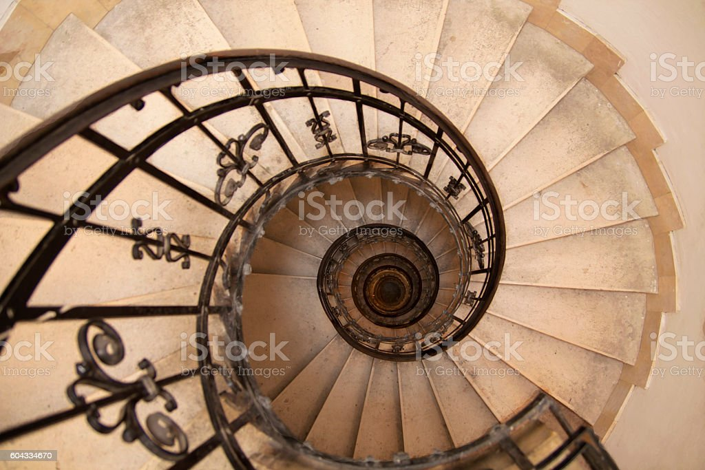 Escalera Caracol Stock Fotos e Imgenes iStock