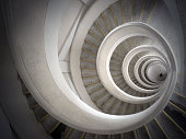 Ancient spiral staircase