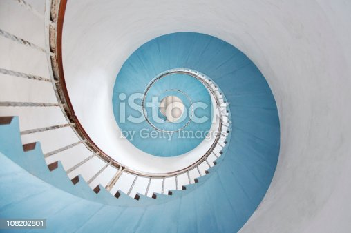 istock Spiral staircase 108202801