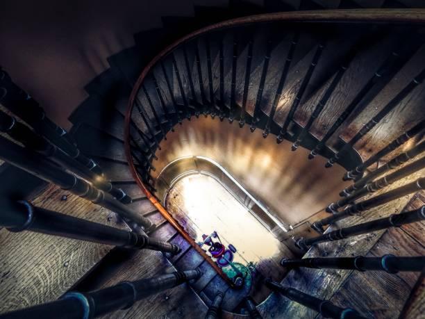 escalier - josianne toubeix photos et images de collection