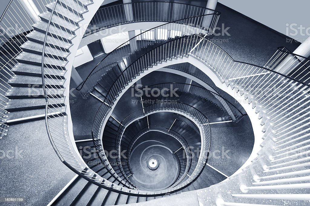 Spiral Staircase - Toned Image