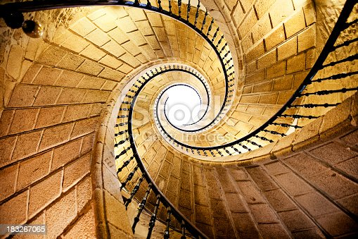 istock Spiral Staircase 183267065