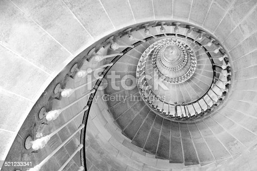 istock Spiral staircase 521233341