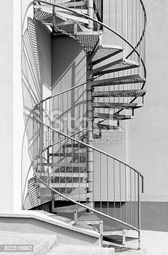 istock Spiral staircase 622318662