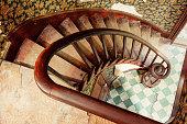 Spiral Stairway at Chinese Garden, Singapore