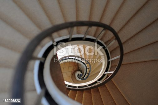 istock Spiral Staircase - XLarge 185256820