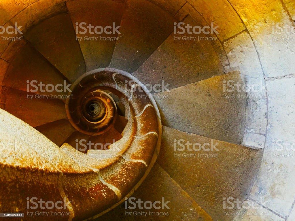 Spiral Stairs Fibonacci - Стоковые фото Болгария роялти-фри