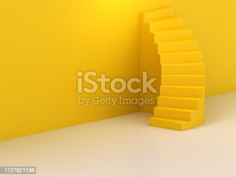 istock Spiral stairs 1127621156
