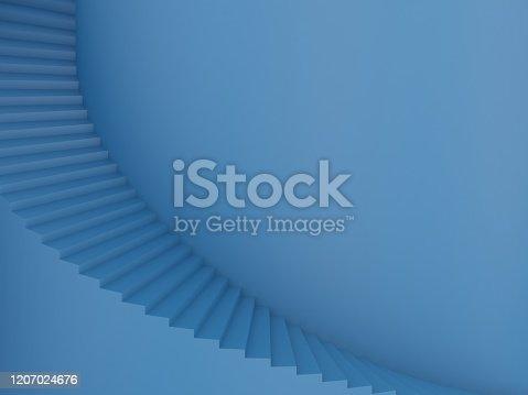 1154986671 istock photo Spiral stairs 1207024676