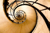 istock Spiral stairs 1250336704