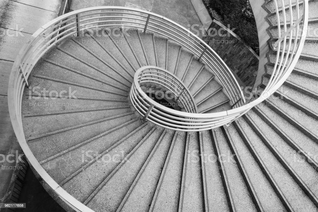 Spiralförmigen Treppe – Foto