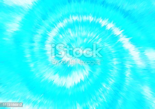 istock Spiral Swirl Exploding Abstract Tie Die Tye Dye Effect Blue White Teal Background 1173186913
