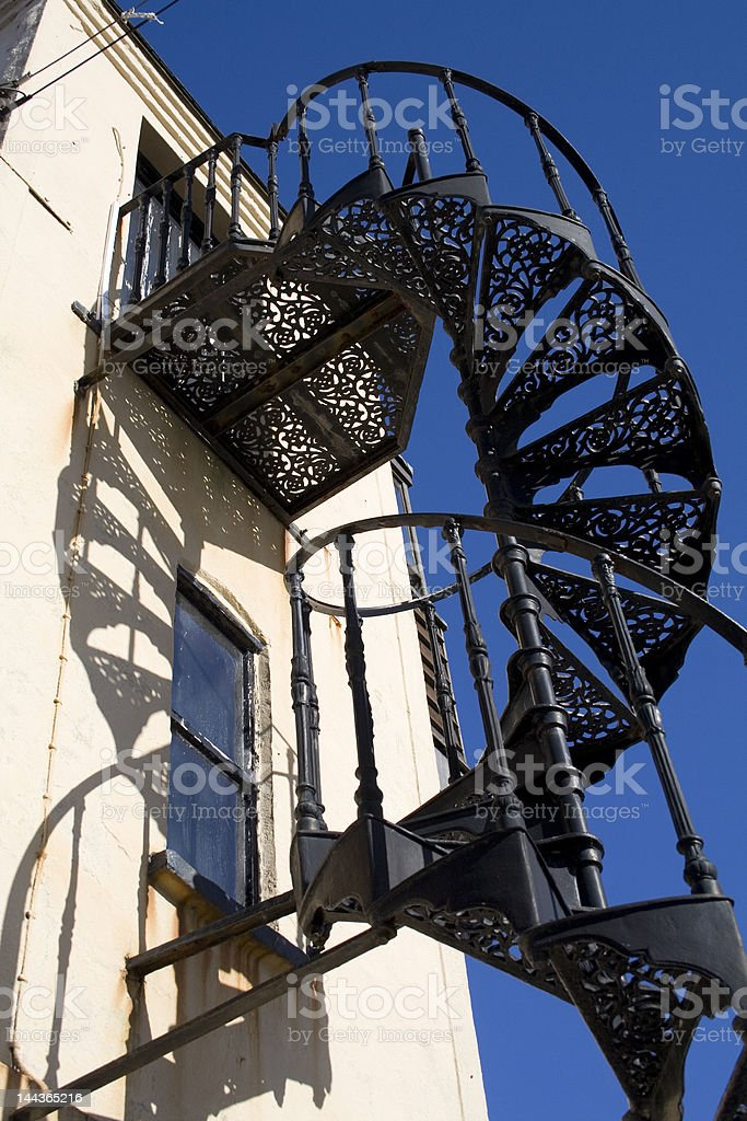 Spiral Tower stock photo