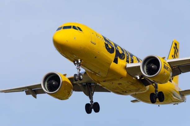 Spirit Airlines Airbus A320. – Foto