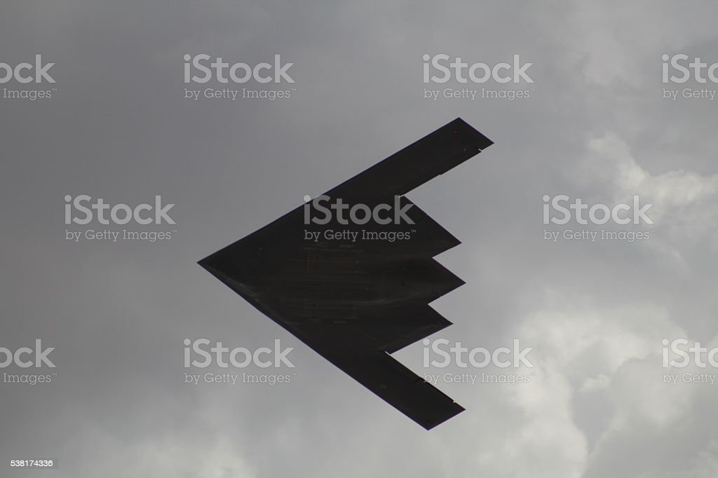 B-2 Spirit Flyby stock photo