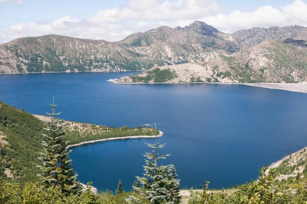 Spirit Lake stock photo