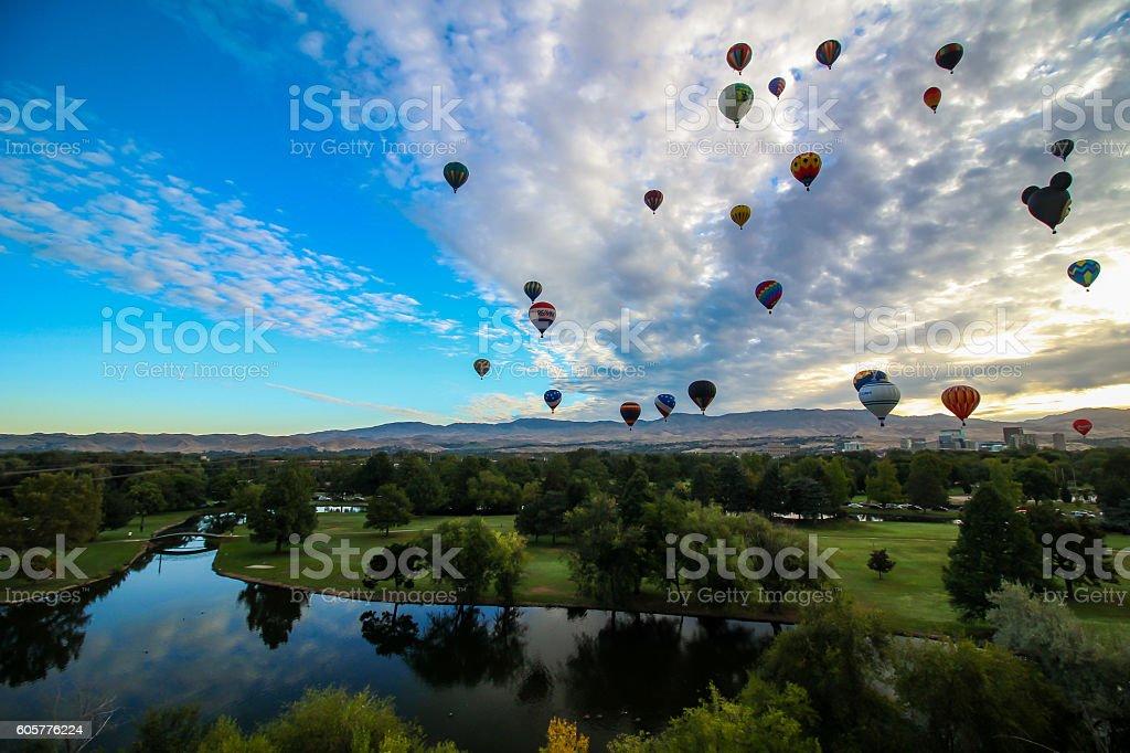 Spirit of Boise stock photo