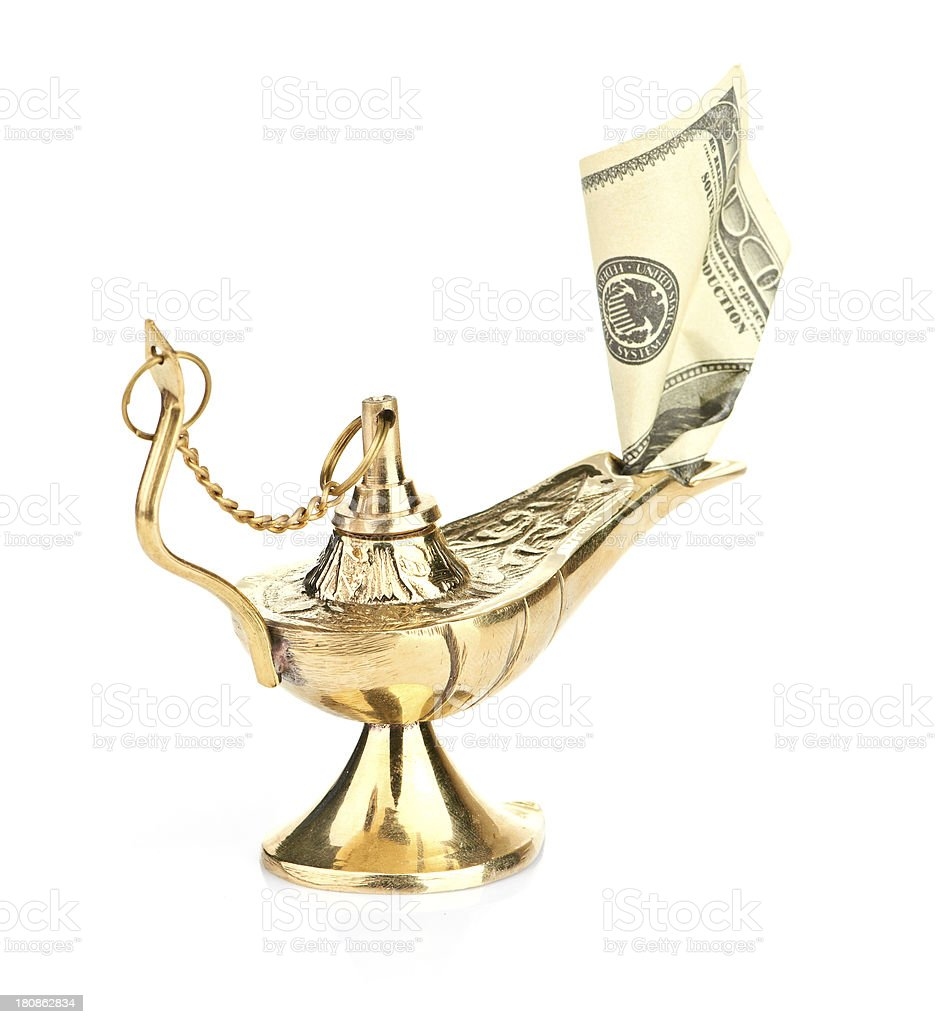 spirit of money royalty-free stock photo