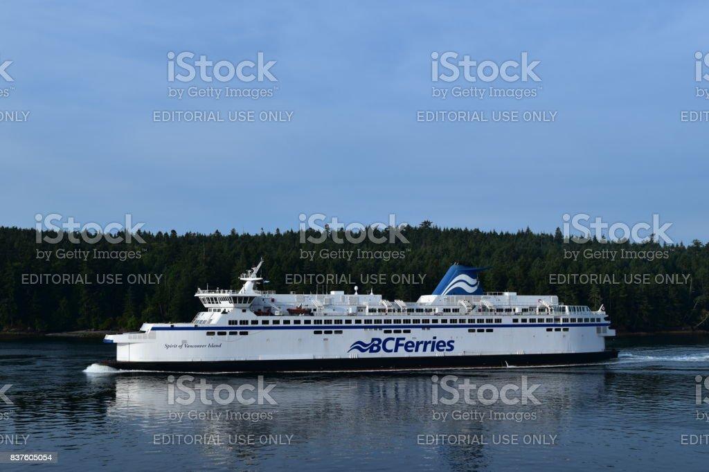 Spirit of Vancouver Island stock photo