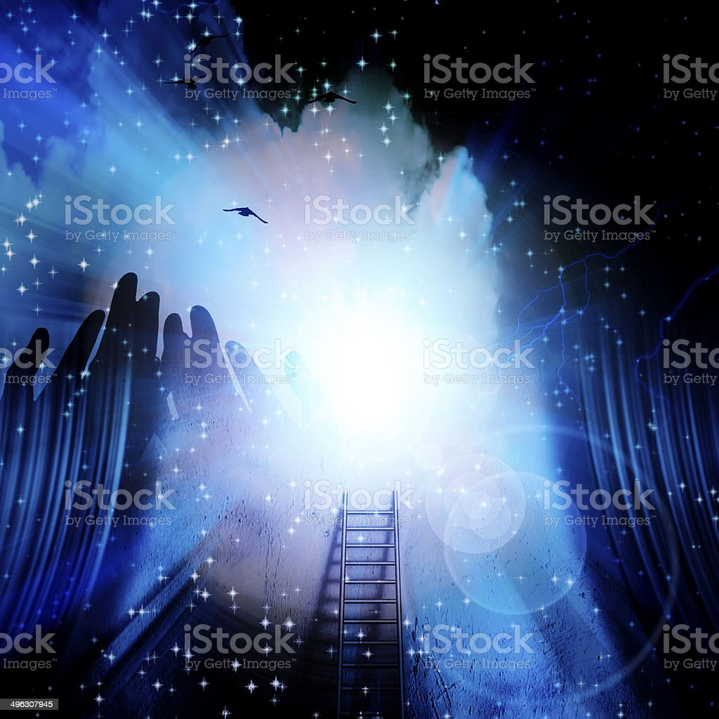 Spirit Stage royalty-free stock photo