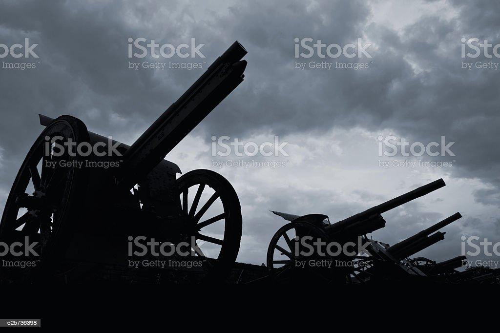 Spirits of war stock photo