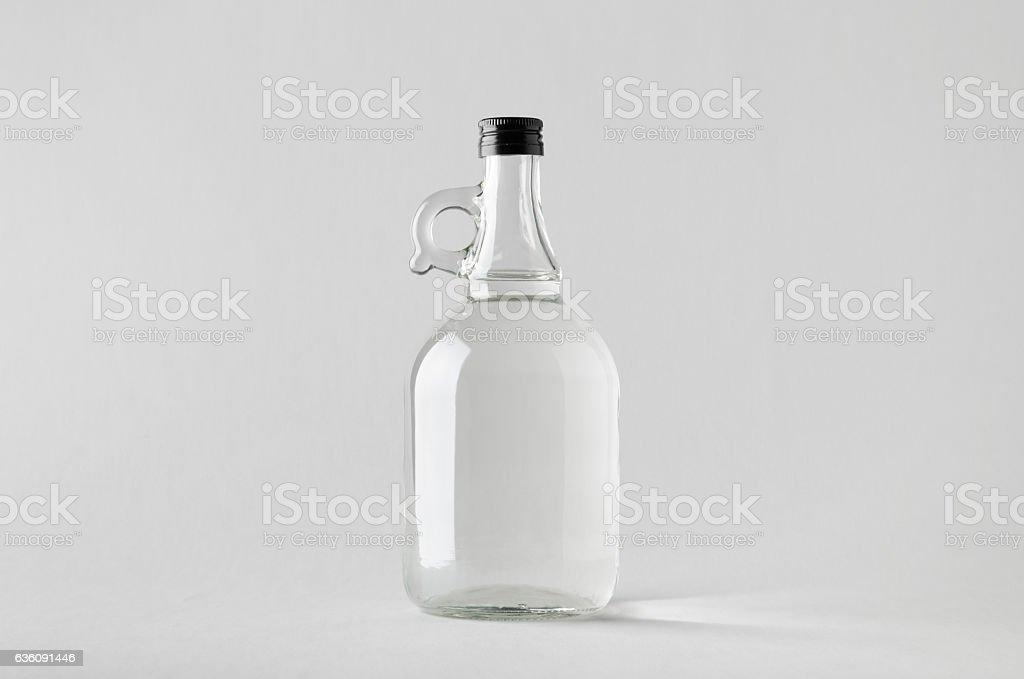 Spirits/Liquour Growler Mock-Up stock photo