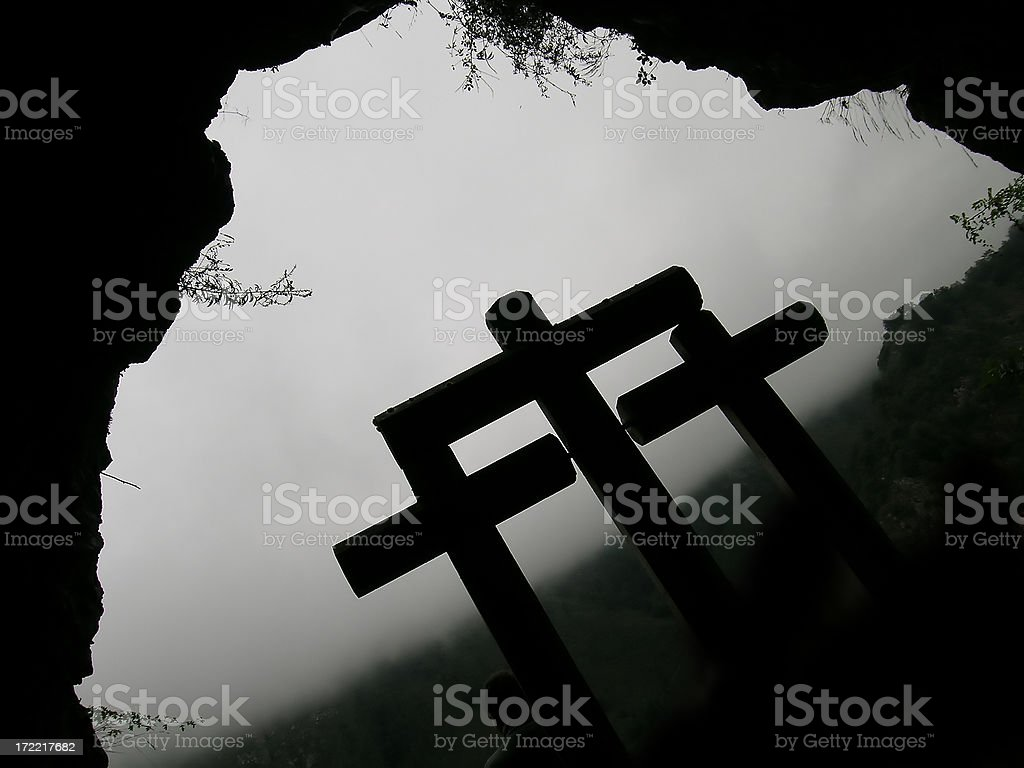 Spiritual Cave royalty-free stock photo