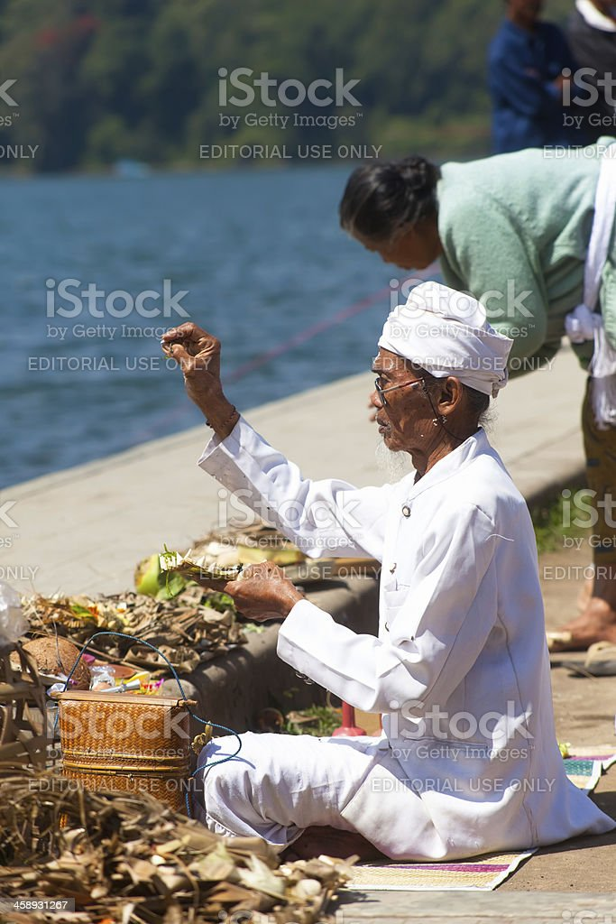 Spiritual ceremony royalty-free stock photo