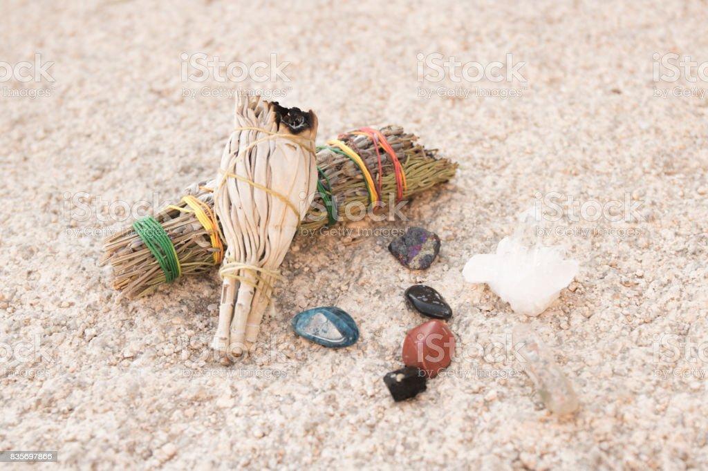 Spiritual Desert stock photo