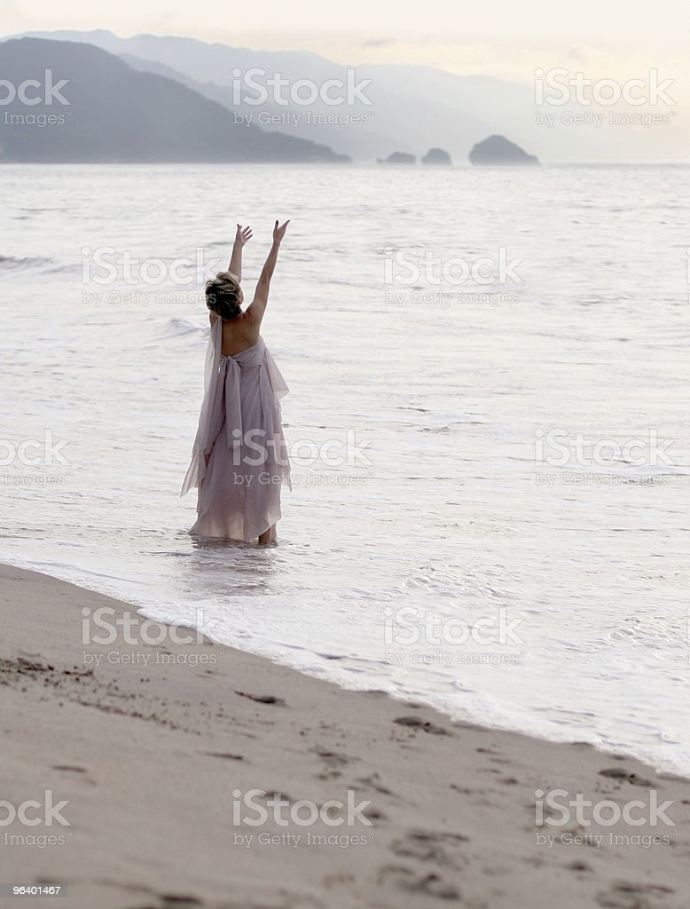 Spiritual woman royalty-free stock photo