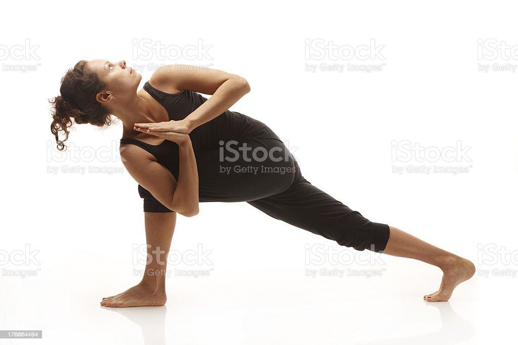 Spiritual young woman stock photo